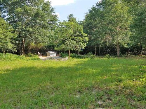 Open Rose Drive Lot : Milton : Santa Rosa County : Florida