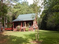 Cabin And 67 Acres : McComb : Pike County : Mississippi