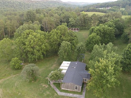 House & 10 Acres. Very Private : Somerset : Pulaski County : Kentucky