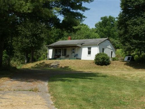 Mini Farm With Home And 29 Acres : Troutdale : Grayson County : Virginia