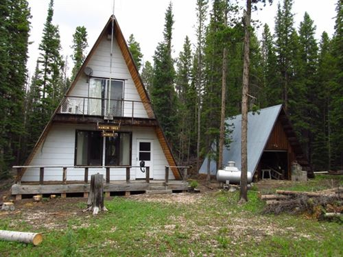 Snowy Range Cabin : Arlington : Carbon County : Wyoming