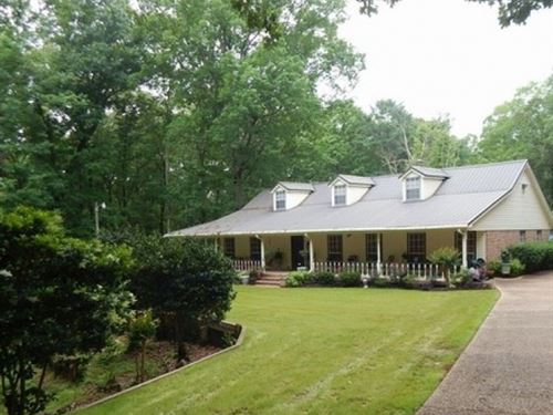 40 Acres With A Home In Hinds Count : Raymond : Hinds County : Mississippi