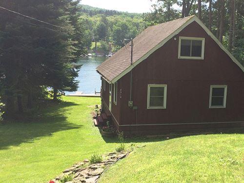 Lakefront Home Rushford Lake Ny : Rushford : Allegany County : New York