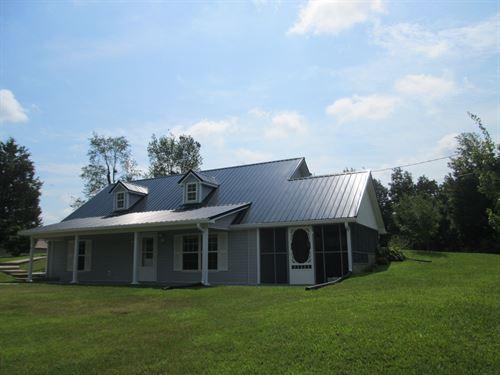 Home On 13 Acres In Metcalfe County : Edmonton : Metcalfe County : Kentucky