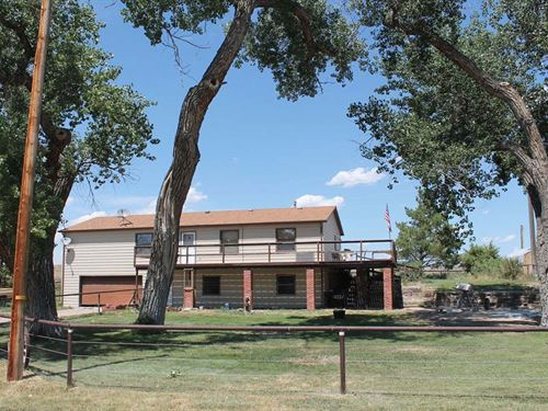 N Platte River Horse Ranch : Douglas : Converse County : Wyoming