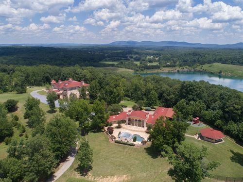 Sundance Estate - Luxurious Mansion : Cartersville : Bartow County : Georgia