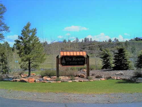 Reserve At Pagosa Peak, Lot 72 : Pagosa Springs : Archuleta County : Colorado