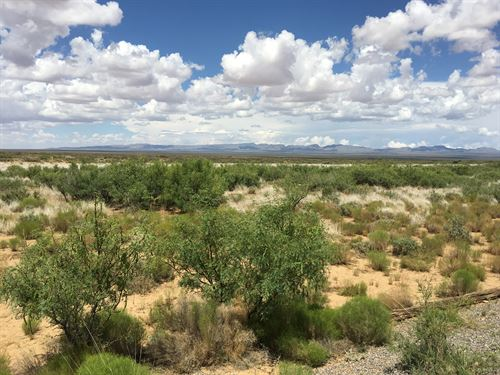 400 Acres Near Spaceport America : Cutter : Sierra County : New Mexico