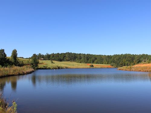 Beautiful, Rolling Property : Thomaston : Upson County : Georgia