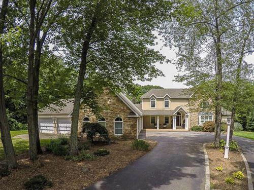 6 Acres, Elegant Home : Bloomsburg : Columbia County : Pennsylvania