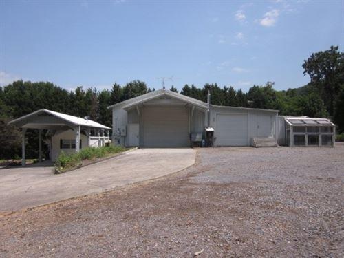 Unique Property With Large Garage : Fairmount : Gordon County : Georgia