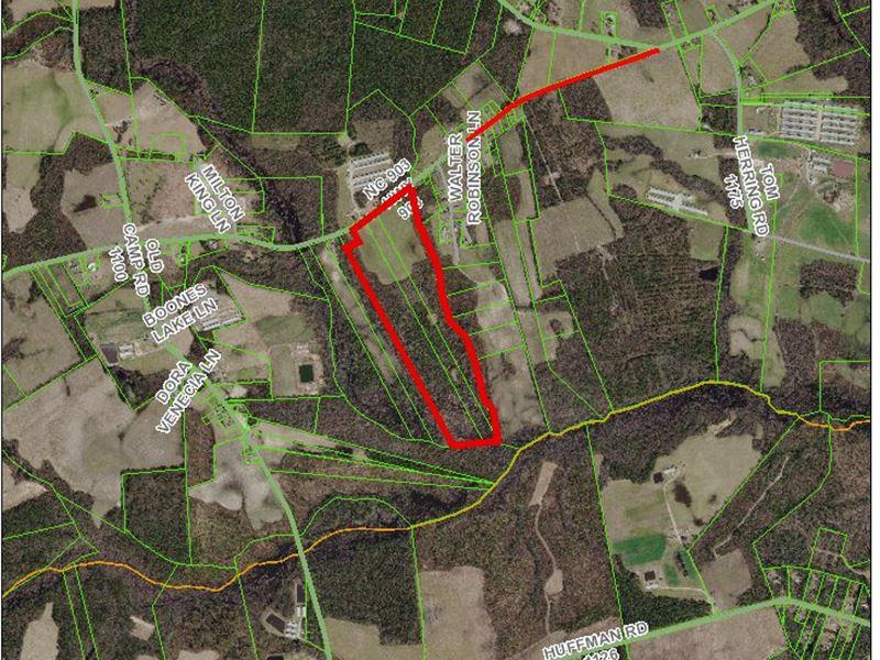 Magnolia Nc Farm : Land for Sale : Rose Hill : Duplin County