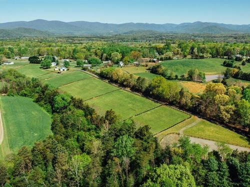 Charlottesville Farm For Sale : Ruckersville : Greene County : Virginia