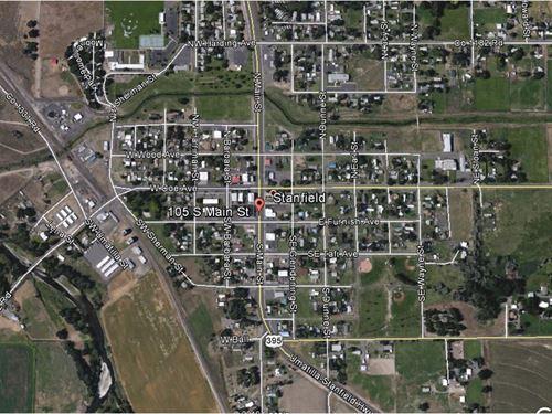 Vacant Lot-No Reserve High Bid Wins : Stanfield : Umatilla County : Oregon