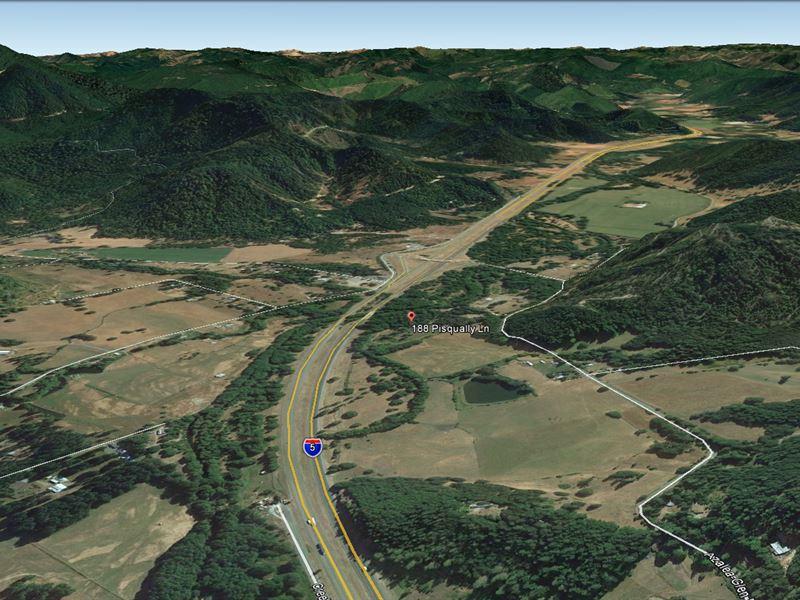 11.64 Acres W/ I-5 Frontage Azalea : Azalea : Douglas County : Oregon