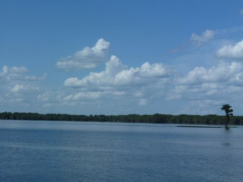 Lake Santa Fe Access Lot : Earleton : Alachua County : Florida