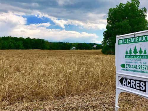 154+/- Acres Land : Bloomsburg : Columbia County : Pennsylvania