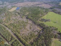 124 Acres W/ Miles Of Atv Trails : Sparta : Hancock County : Georgia