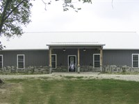 Custom Built Ranch Style Home : Cooper : Delta County : Texas