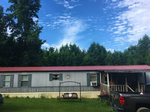 10 Acres With Mobile Home : Greensboro : Greene County : Georgia