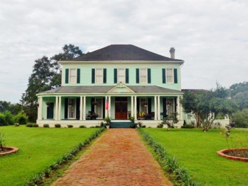 Renovated Historic Home For Sale : Centreville : Wilkinson County : Mississippi