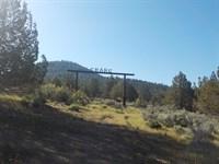 Pasture, River, Fishing And Hunting : Beatty : Klamath County : Oregon