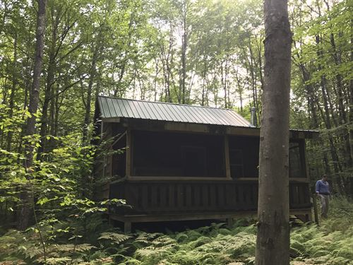 Camp Lee - Near Empeyville Pond : Florence : Oneida County : New York