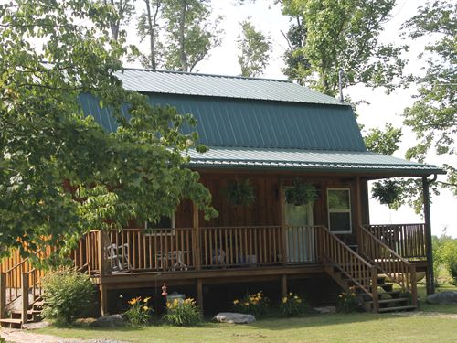 Amish Cabin 182Ac Land & 324Ac Min : Quinwood : Greenbrier County : West Virginia