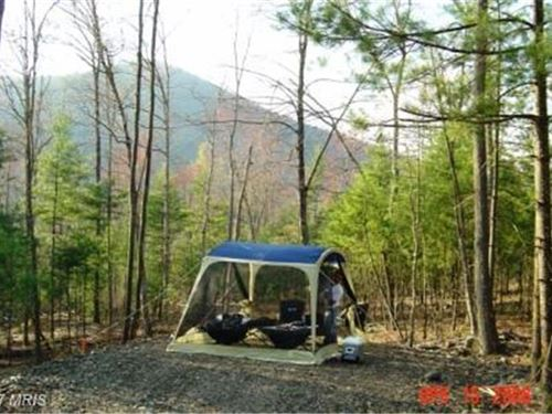National Forest Access : Wardensville : Hardy County : West Virginia