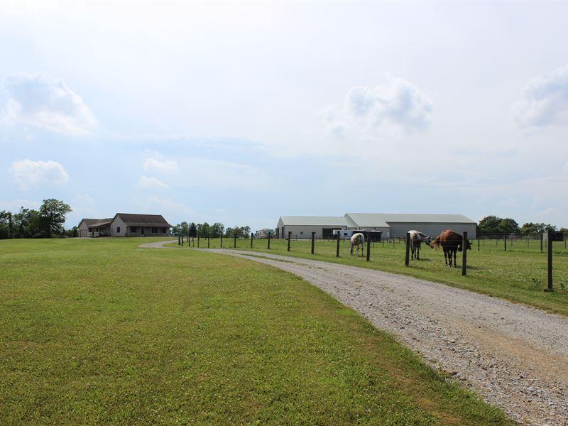25 Acre Horse Farm : Claypool : Kosciusko County : Indiana