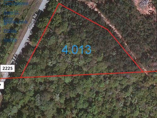 1.3 Acres Perfect For A Home : Troy : Pike County : Alabama