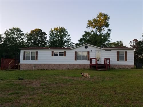 3 Br Mobil Home On 5 Acres : Troy : Pike County : Alabama