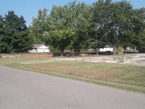 Approx 10 Lots Close To College : Tishomingo : Johnston County : Oklahoma