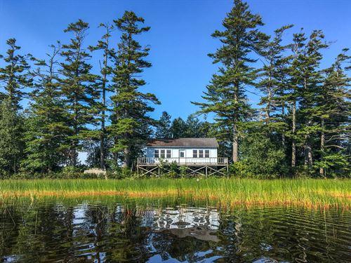 Chemo Island Retreat : Eddington : Penobscot County : Maine