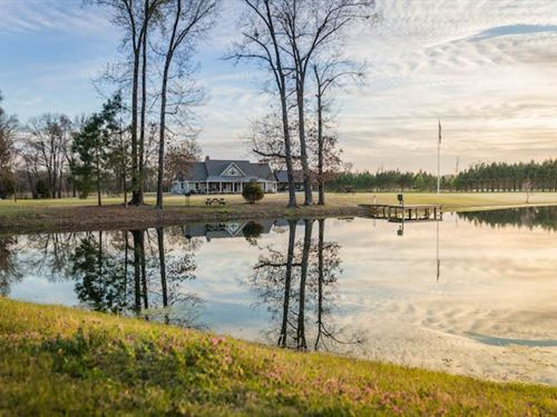 River Bend Ranch On The Sabine Rive : Big Sandy : Upshur County : Texas