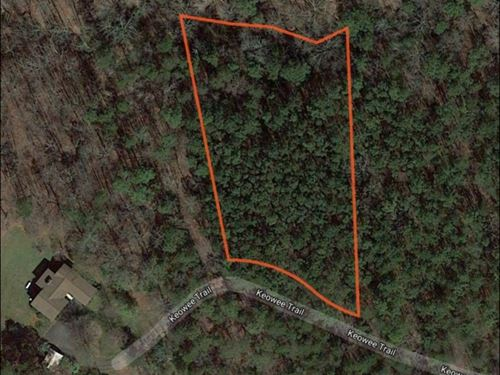 Residential Lot Near Lake Keowee : Greenville : Pickens County : South Carolina