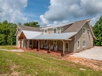 53 Acs, Home & Swan Creek Frontage : Hampshire : Lewis County : Tennessee
