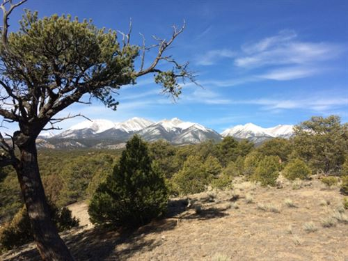 Tabeguache Hills : Salida : Chaffee County : Colorado