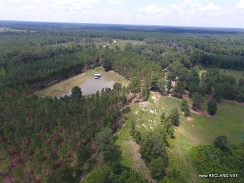 70 Ac - Camp, Pond, Timber, Hunting : Chatham : Jackson Parish : Louisiana