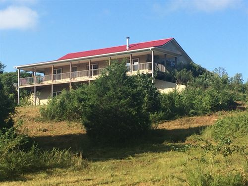 36 Acre Home With River Frontage : Edmonton : Metcalfe County : Kentucky