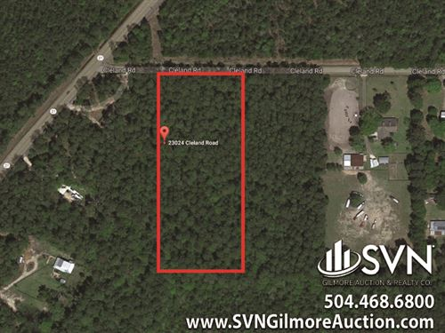 4.34 Acres Vacant Land : Covington : Saint Tammany Parish : Louisiana