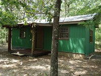 Hunting Land W/ Cabin & Big Timber : Sparta : Hancock County : Georgia