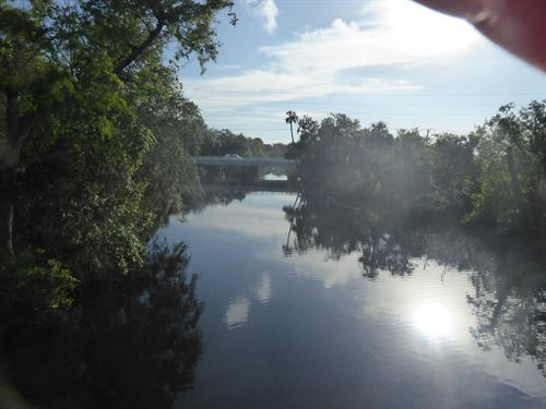 Waterfront Spruce Creek 100X250 Lot : Port Orange : Volusia County : Florida
