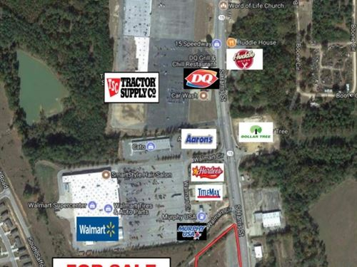 Excellent Commercial Property : Sandersville : Washington County : Georgia