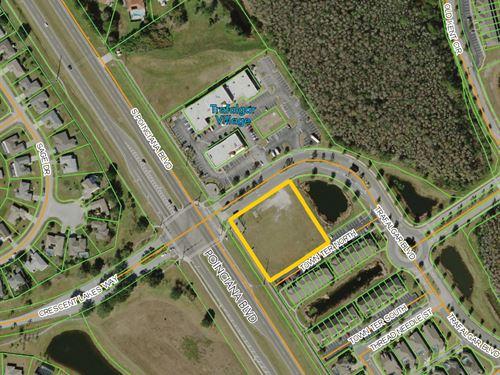 Trafalgar Village Commercial Parcel : Kissimmee : Osceola County : Florida