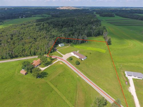 Annapolis Rd - 5 Acres : Hopedale : Harrison County : Ohio