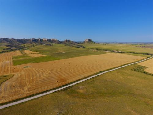 Little Crow Butte Hunting Ranch : Crawford : Dawes County : Nebraska