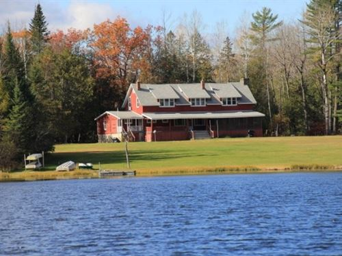 Michigan Hunting Lodge : South Branch : Iosco County : Michigan
