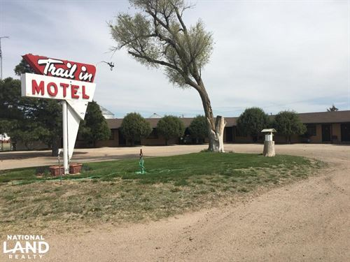 Trail Inn Motel For Sale - Cheyenne : Cheyenne Wells : Cheyenne County : Colorado