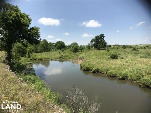 Pasture Tract On Big Cabin Creek : Welch : Craig County : Oklahoma